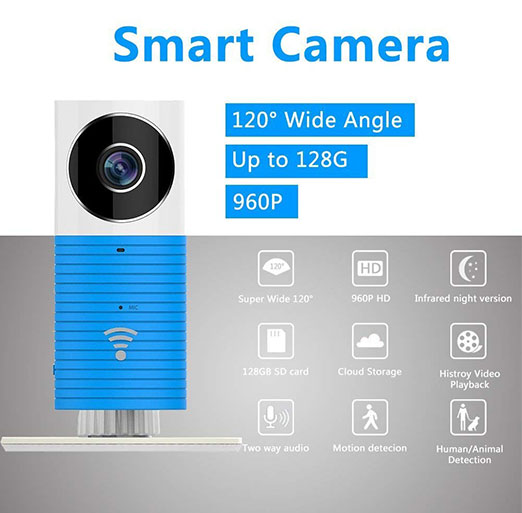 Clever Dog Smart Camera 960P HD 120 Front