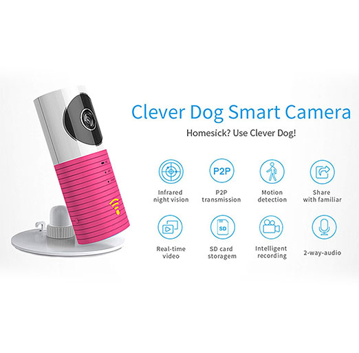 Clever Dog WiFi Security Camera HD Side