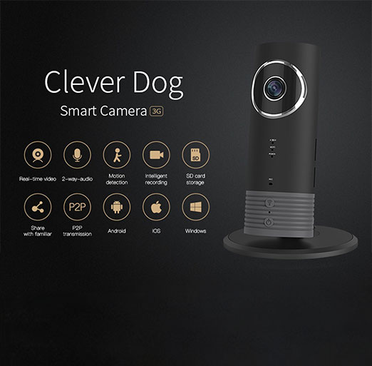 Clever Dog wireless 3G wifi camera Front
