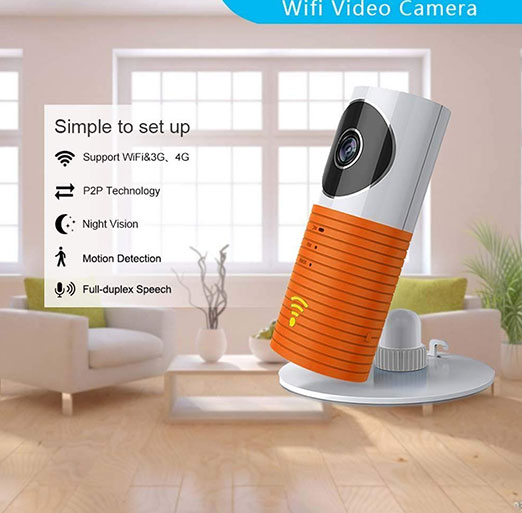 Clever dog Wireless Security WiFi Cameras Side