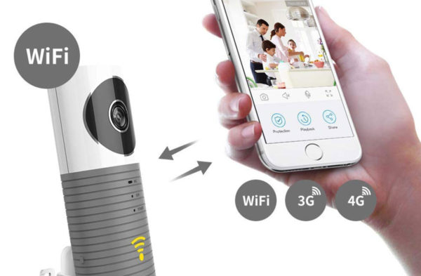 Clever Dog 90 Degree Grey Mobile Wifi