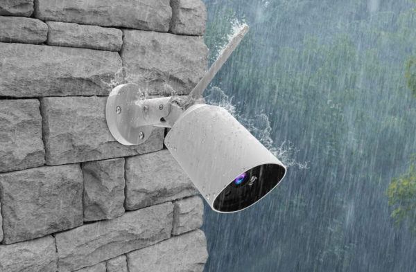 Clever Dog Outdoor White raining