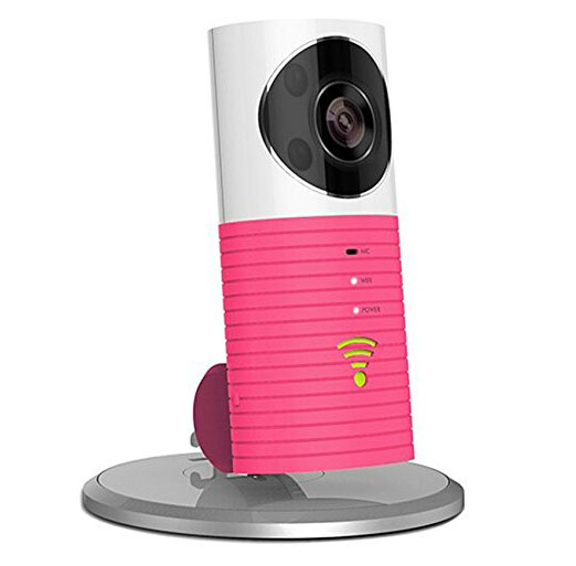 Wireless HD 720P Mini Wifi IP Pink Side